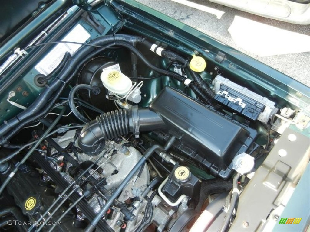 2001 Jeep Grand Cherokee Inline 6 Engine Diagram  Jeep