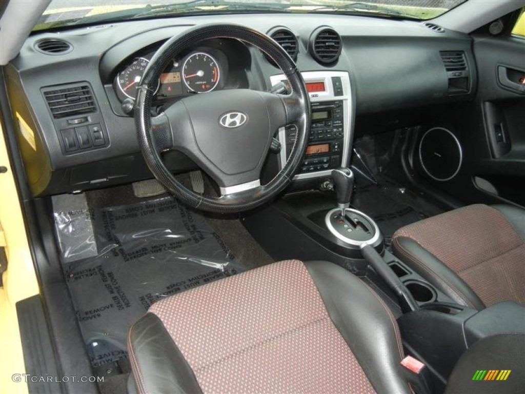 Black Red Interior 2006 Hyundai Tiburon Gt Photo 71587746