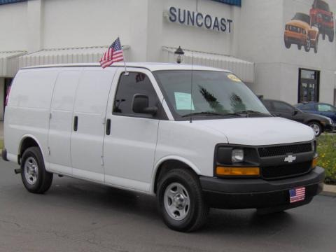 2006 Chevrolet Express 1500 AWD Cargo Van Data, Info and Specs