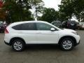 2013 White Diamond Pearl Honda CR-V EX-L AWD  photo #5