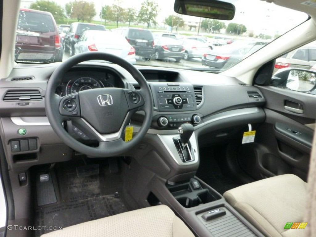 Beige interior 2013 honda cr v ex awd photo 71592957 for Honda cr v 2013 interior