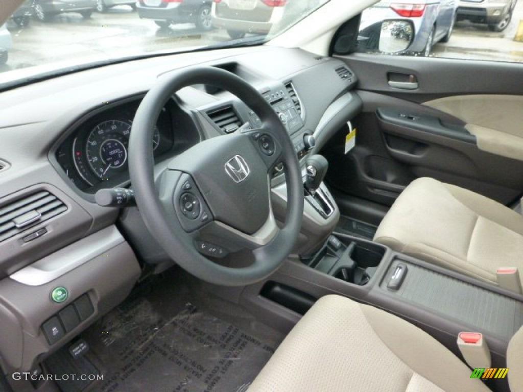 Beige interior 2013 honda cr v ex awd photo 71592984 for Honda cr v 2013 interior