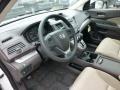 2013 White Diamond Pearl Honda CR-V EX AWD  photo #16