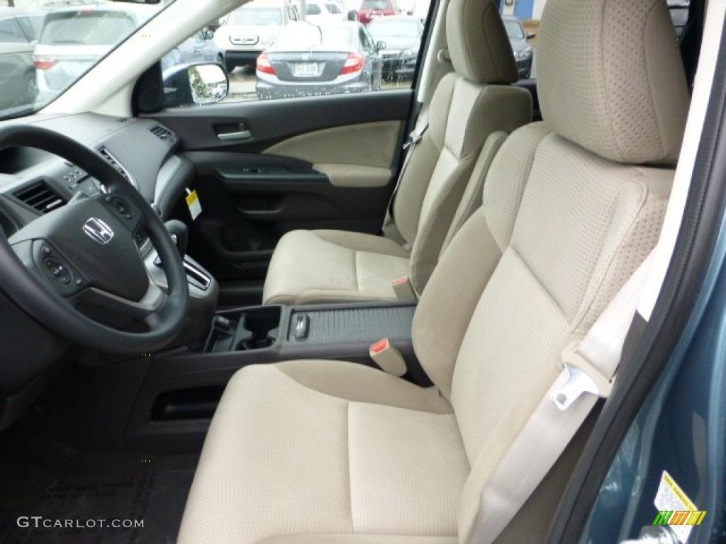 Beige Interior 2013 Honda Cr V Ex Awd Photo 71593770
