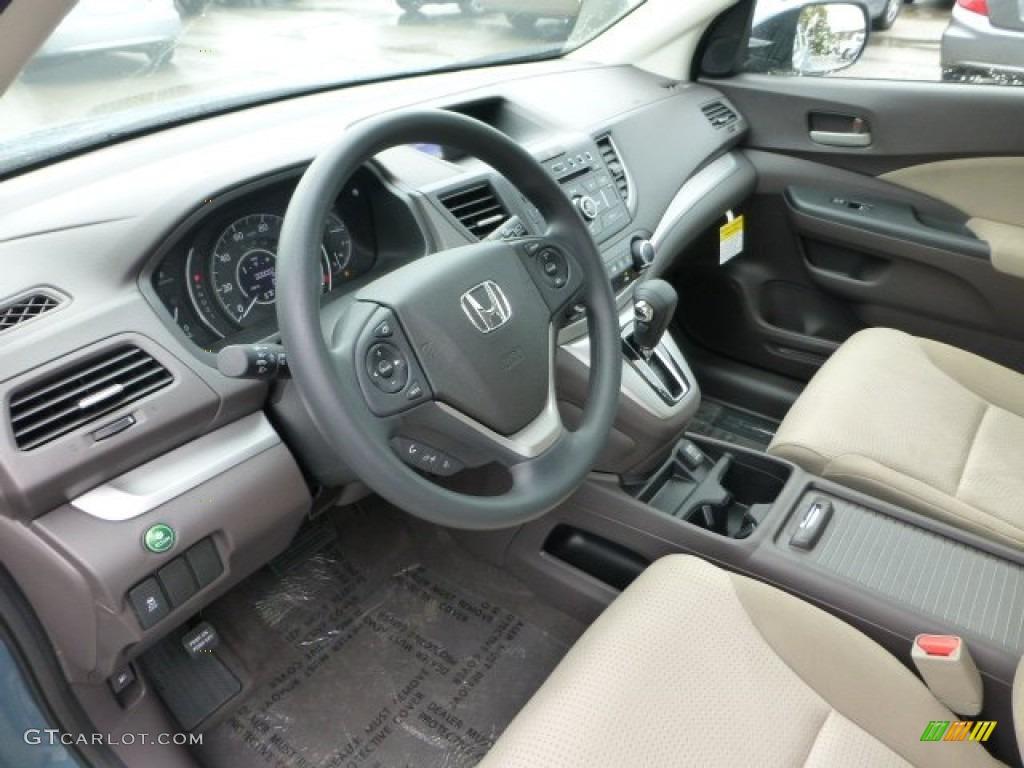 Beige interior 2013 honda cr v ex awd photo 71593827 for Honda cr v 2013 interior