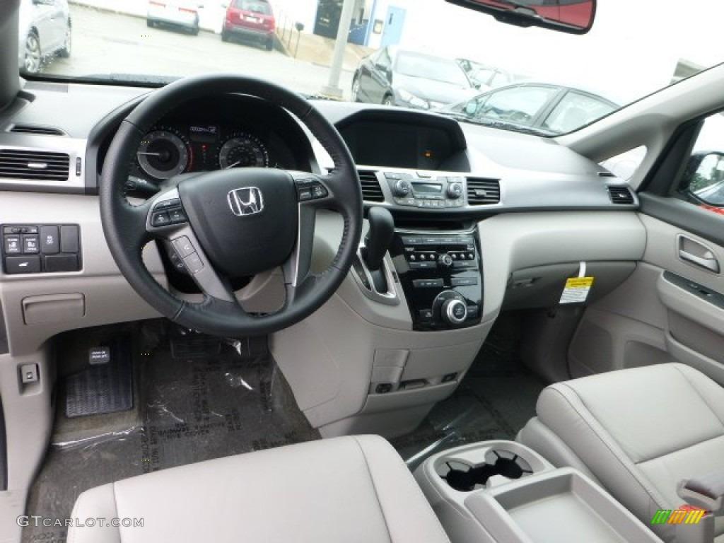 Gray Interior 2013 Honda Odyssey Ex L Photo 71593962 Gtcarlot Com