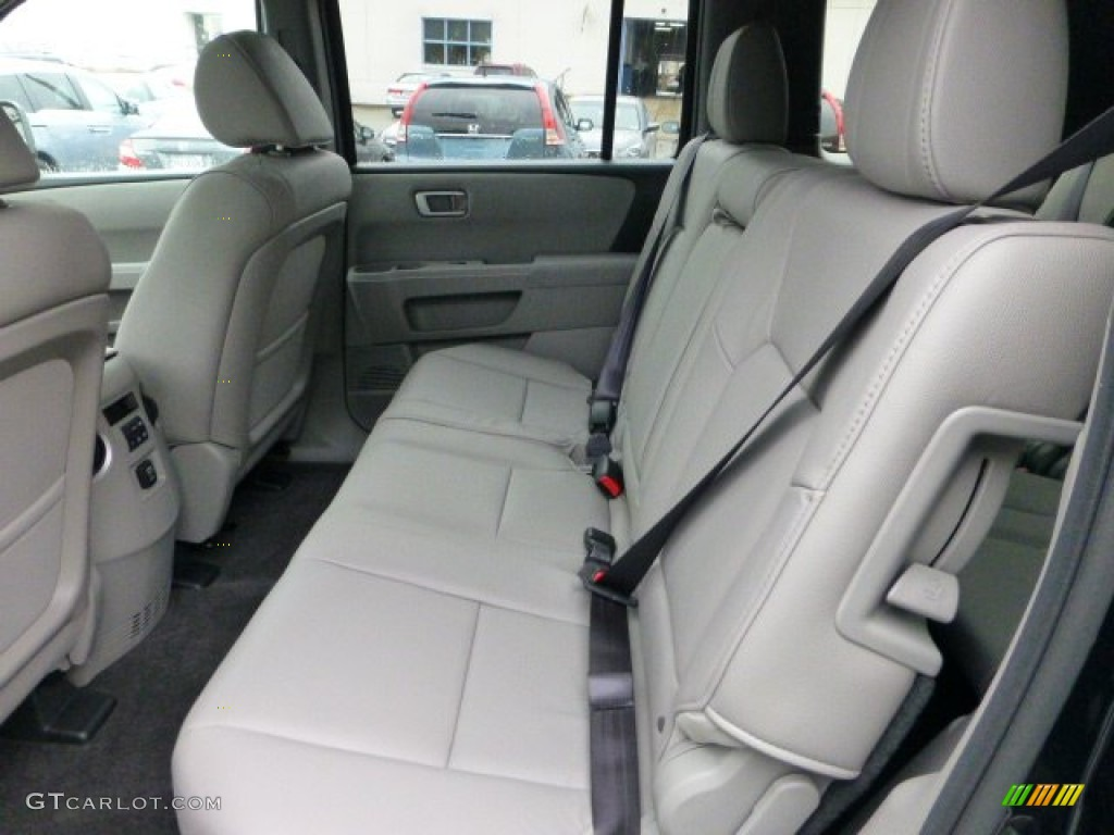 Gray Interior 2013 Honda Pilot EX L 4WD Photo #71594463