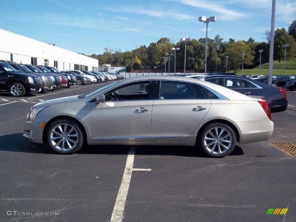 Silver Coast Metallic 2013 Cadillac Xts Premium Awd Exterior Photo 71605482