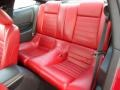 Red Leather Rear Seat Photo for 2005 Ford Mustang #71606832