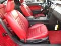 Red Leather Interior Photo for 2005 Ford Mustang #71606865