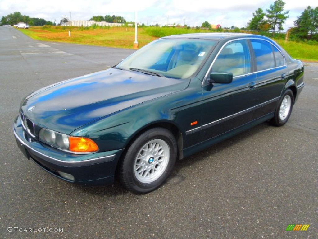 1997 Oxford Green Metallic Bmw 5 Series 528i Sedan