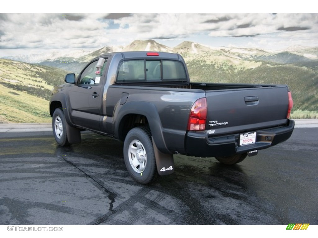 2013 magnetic gray metallic toyota tacoma regular cab 4x4 71530843 photo 2. Black Bedroom Furniture Sets. Home Design Ideas