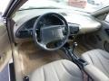 1996 Chevrolet Cavalier Beige Interior Prime Interior Photo