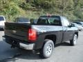 2013 Black Chevrolet Silverado 1500 Work Truck Regular Cab 4x4  photo #8
