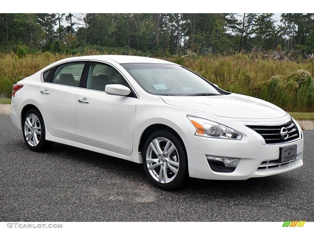 pearl white 2013 nissan altima 3 5 s exterior photo. Black Bedroom Furniture Sets. Home Design Ideas