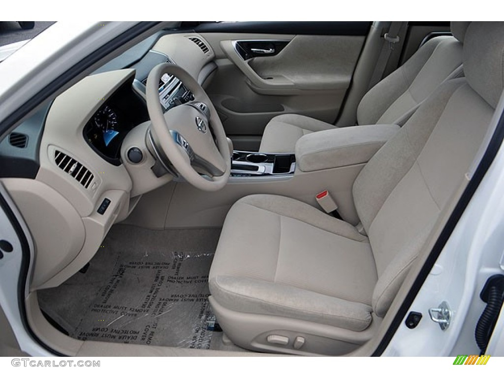 Beige Interior 2013 Nissan Altima 3.5 S Photo #71634496