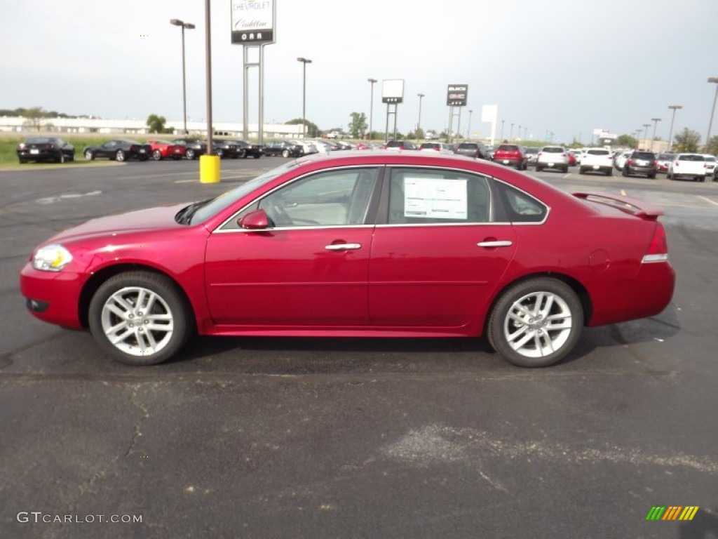 Crystal Red Tintcoat 2013 Chevrolet Impala Ltz Exterior Photo 71635219