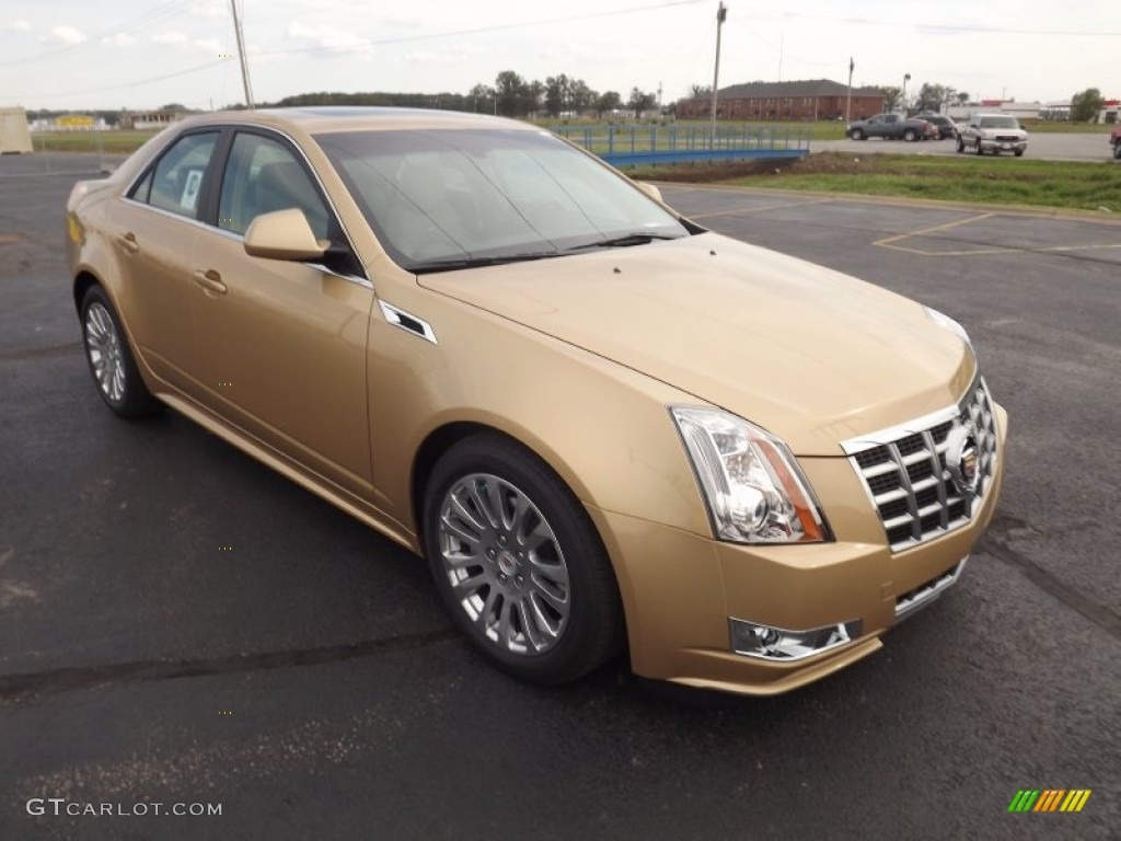 summer gold metallic 2013 cadillac cts 3 6 sedan exterior photo 71635990. Black Bedroom Furniture Sets. Home Design Ideas