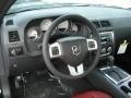 Radar Red/Dark Slate Gray Steering Wheel Photo for 2013 Dodge Challenger #71639725