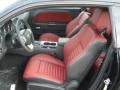 Radar Red/Dark Slate Gray Front Seat Photo for 2013 Dodge Challenger #71639731