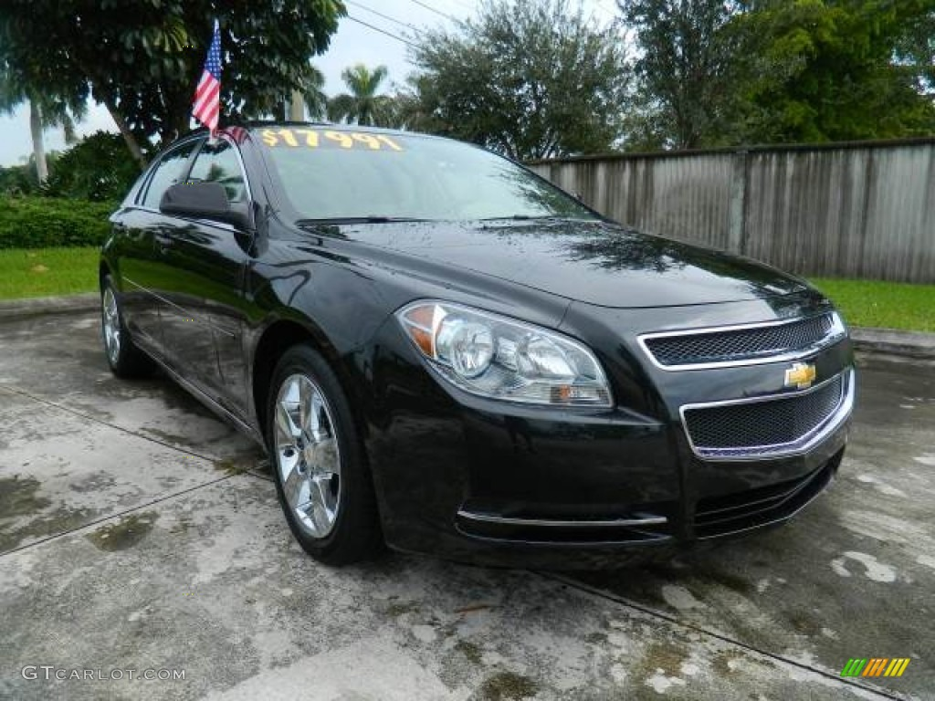 2011 Black Granite Metallic Chevrolet Malibu Lt 71633999