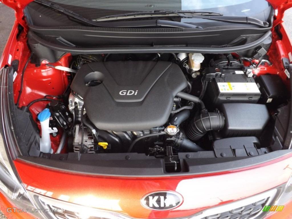 2013 Kia Rio EX Sedan 1.6 Liter GDI DOHC 16-Valve CVVT 4 ...