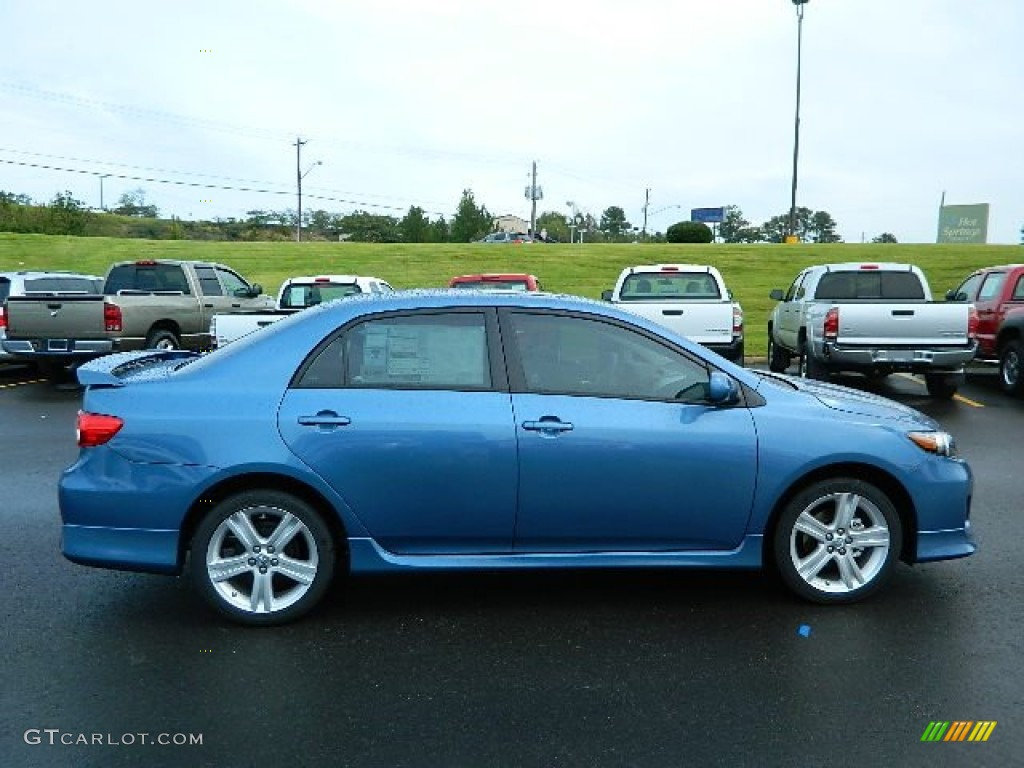 Tropical Sea Metallic 2013 Toyota Corolla S Exterior Photo #71645095