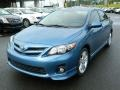 Tropical Sea Metallic 2013 Toyota Corolla S Exterior