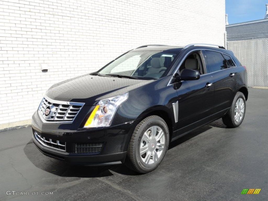 2013 Black Ice Metallic Cadillac Srx Luxury Awd 71633674 Car Color Galleries
