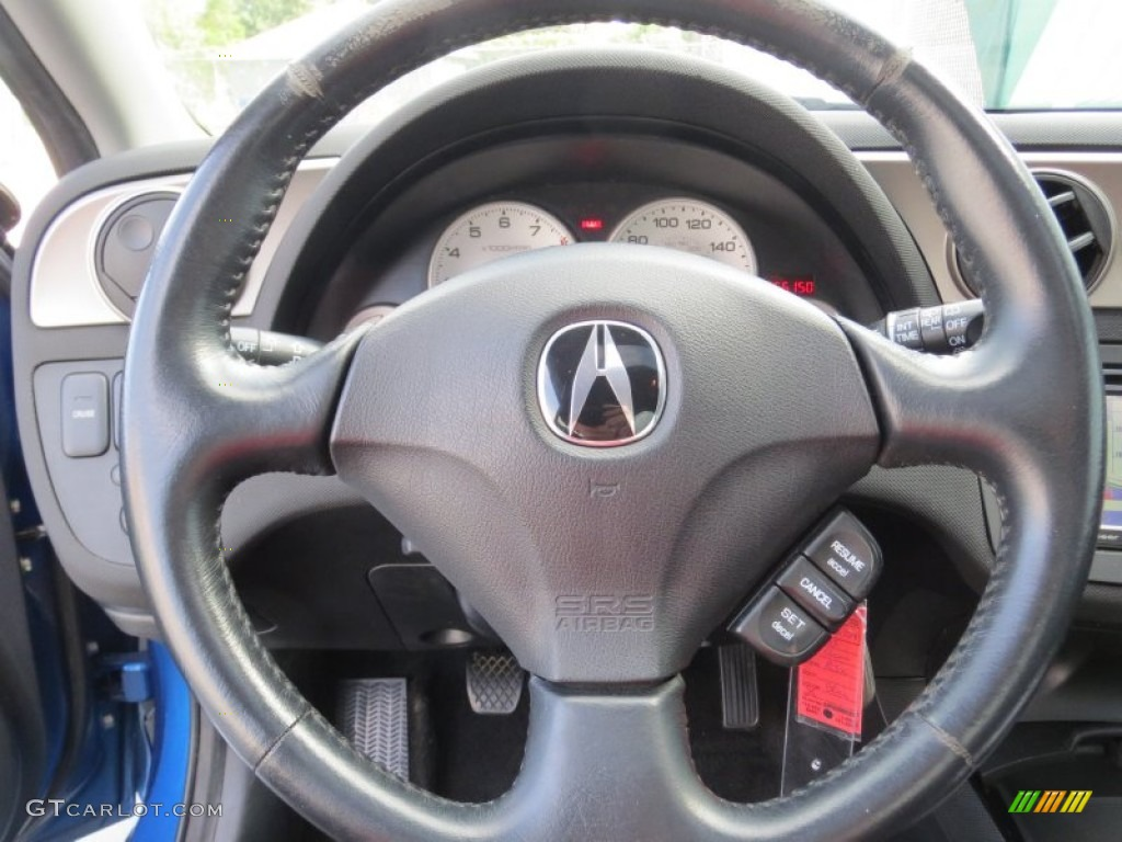 Acura RSX Type S Sports Coupe Steering Wheel Photos GTCarLotcom - Acura rsx steering wheel