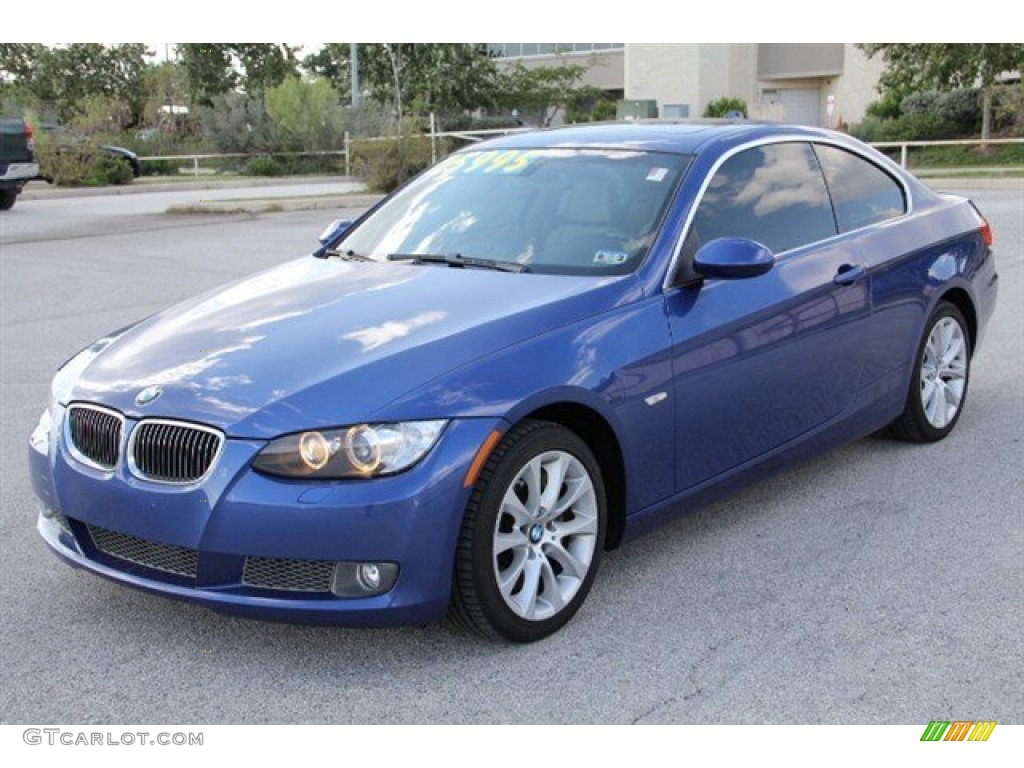 Montego Blue Metallic 2008 Bmw 3 Series 335xi Coupe