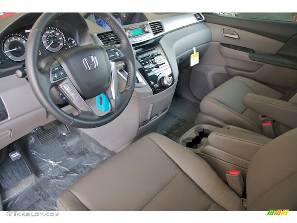Truffle Interior 2013 Honda Odyssey Ex L Photo 71663284 Gtcarlot Com