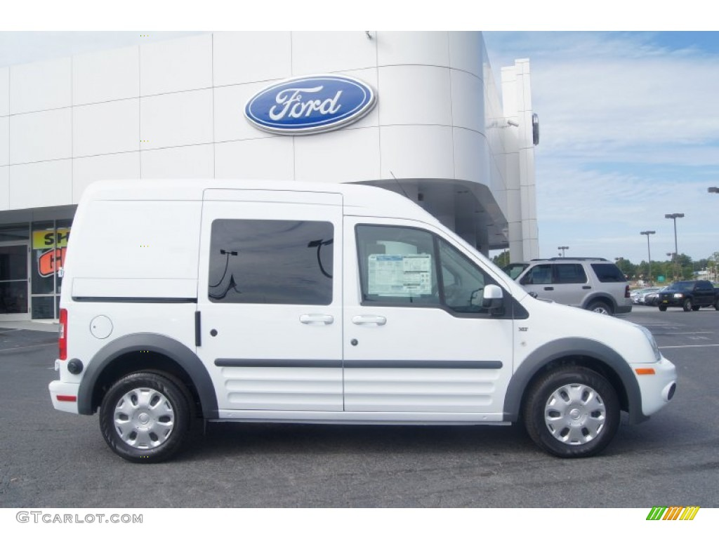Frozen White 2012 Ford Transit Connect XLT Wagon Exterior Photo ...