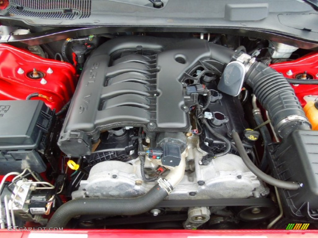 2008 dodge charger se 3 5 liter sohc 24 valve v6 engine