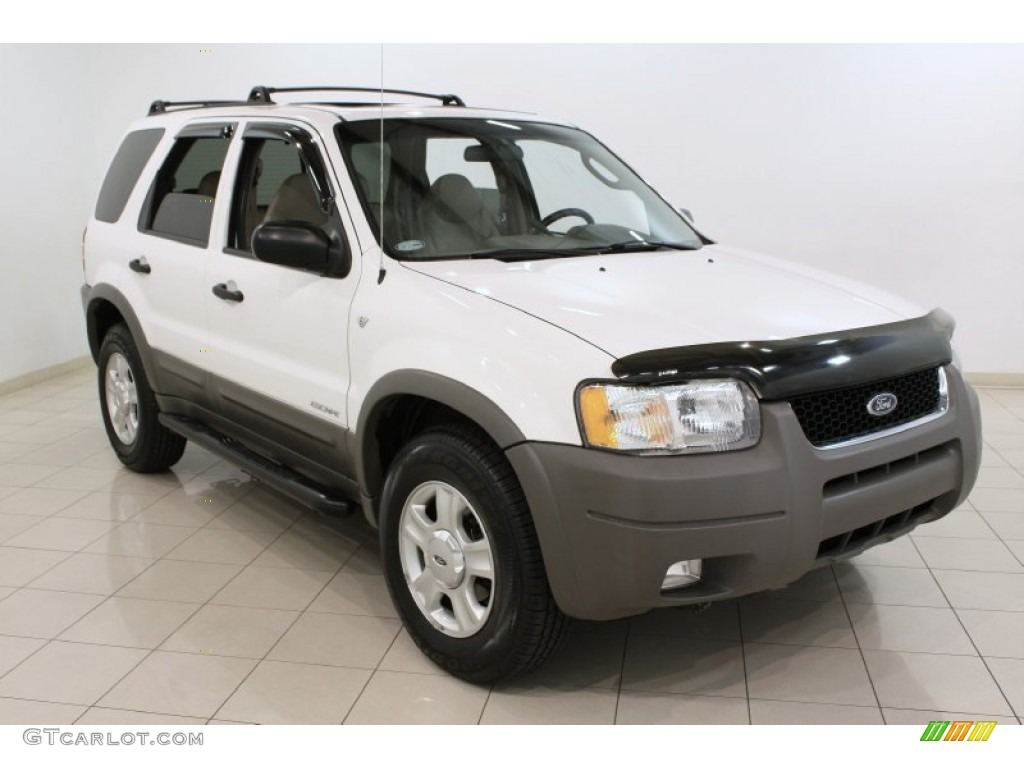 2001 Oxford White Ford Escape Xlt V6 4wd 71634115 Gtcarlot Com Car Color Galleries