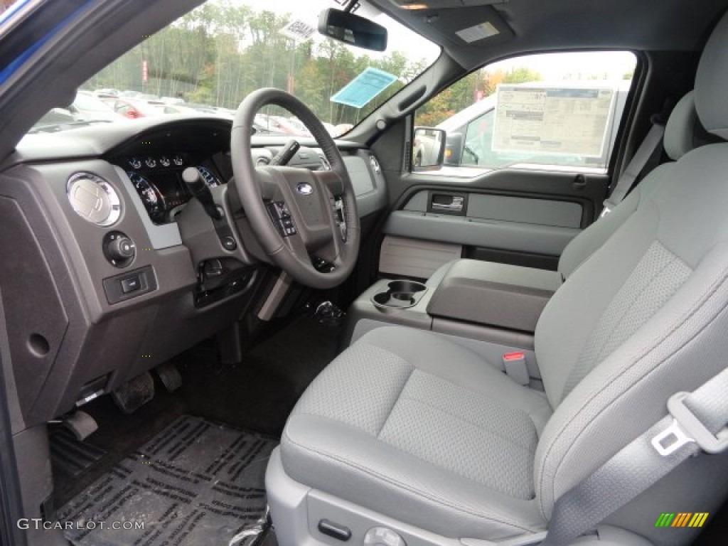 2007 Ford F 150 Xlt >> Steel Gray Interior 2013 Ford F150 XLT SuperCrew 4x4 Photo ...