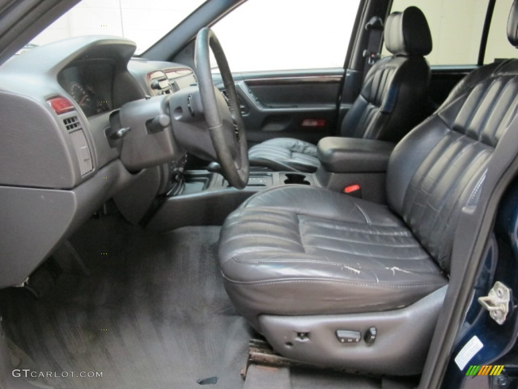 Great Agate Interior 2000 Jeep Grand Cherokee Limited 4x4 Photo #71681737