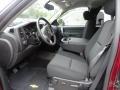 2013 Deep Ruby Metallic Chevrolet Silverado 1500 LT Extended Cab 4x4  photo #4