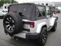 2011 Bright Silver Metallic Jeep Wrangler Sahara 4x4  photo #4
