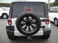 2011 Bright Silver Metallic Jeep Wrangler Sahara 4x4  photo #5