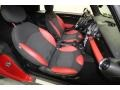 Black/Rooster Red Interior Photo for 2009 Mini Cooper #71690911