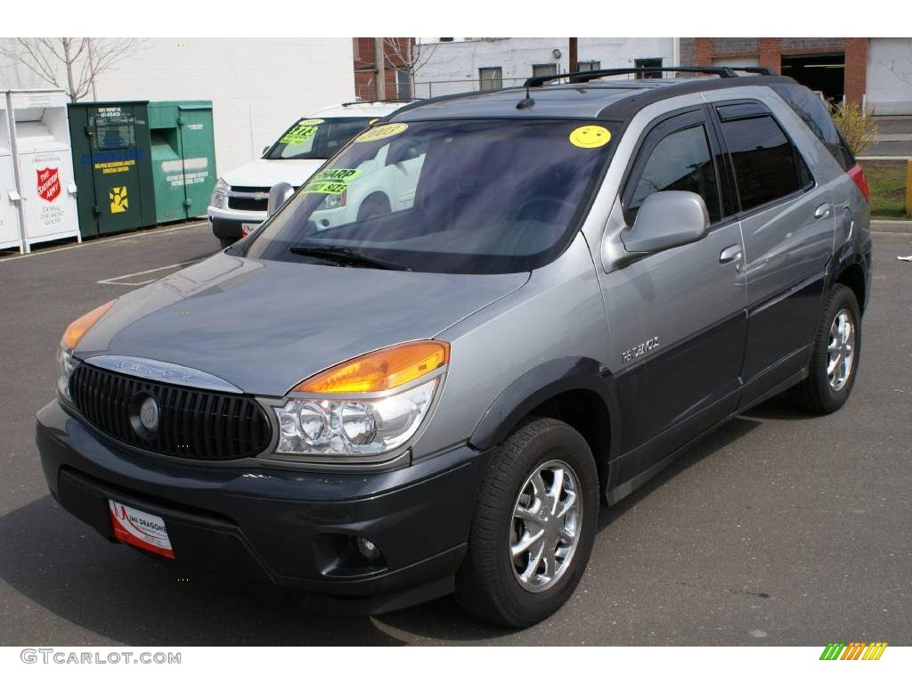 Light spiral gray metallic buick rendezvous