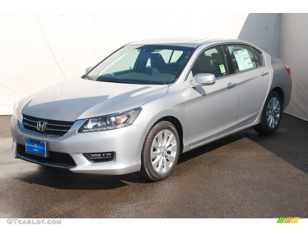 alabaster silver metallic 2013 honda accord ex l v6 sedan. Black Bedroom Furniture Sets. Home Design Ideas