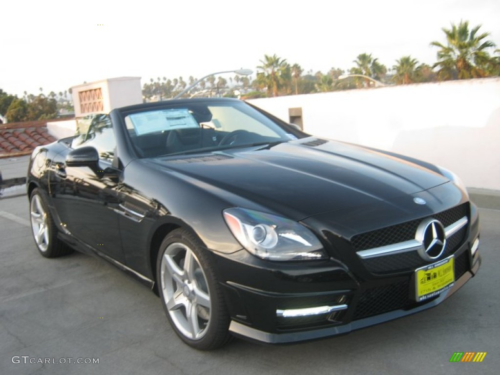2013 black mercedes benz slk 250 roadster 71687916