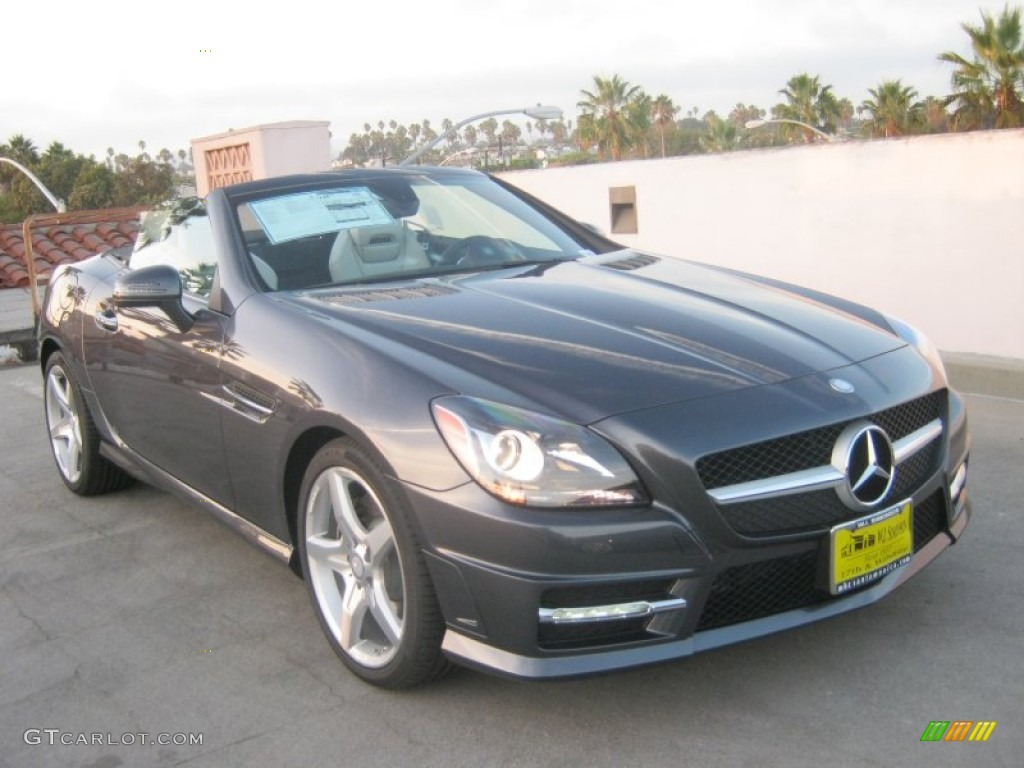 2013 steel grey metallic mercedes benz slk 250 roadster 71687915 photo 10 car. Black Bedroom Furniture Sets. Home Design Ideas