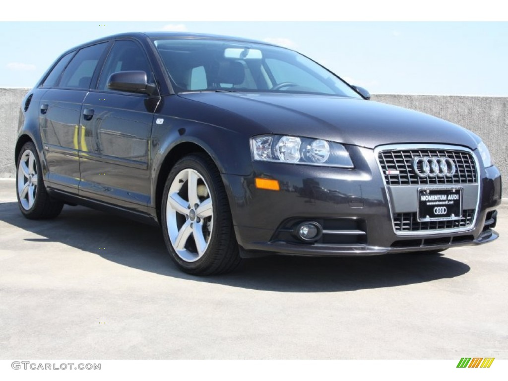 2008 lava grey pearl effect audi a3 2 0t 71688474 car color galleries. Black Bedroom Furniture Sets. Home Design Ideas