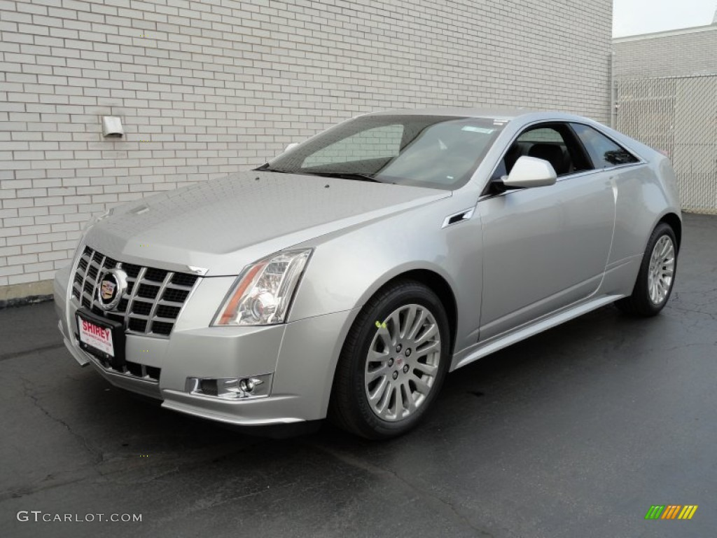 radiant silver metallic 2013 cadillac cts 4 awd coupe exterior photo 71703592. Black Bedroom Furniture Sets. Home Design Ideas