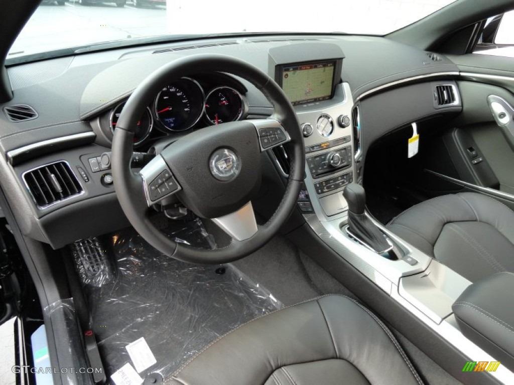 Ebony Interior 2013 Cadillac Cts Coupe Photo 71703862 Gtcarlot Com