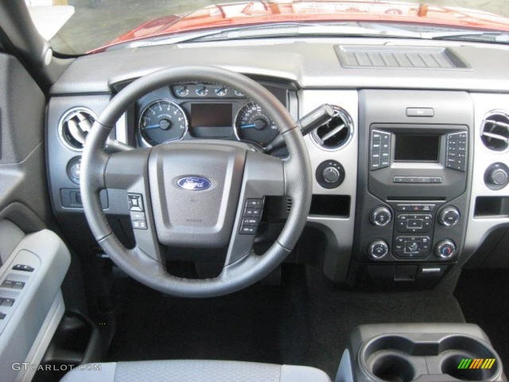2007 Ford F150 Lariat >> 2013 Ford F150 XLT SuperCrew 4x4 Steel Gray Dashboard ...