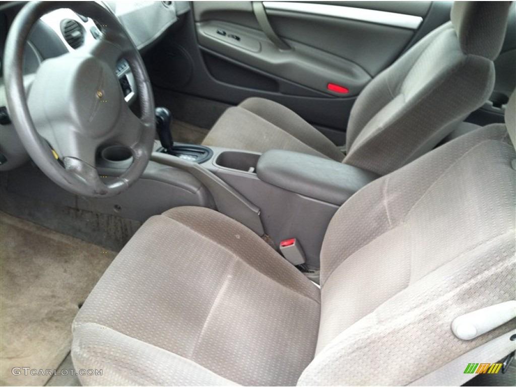 Dark Slate Gray Interior 2004 Chrysler Sebring Limited Coupe Photo 71706061